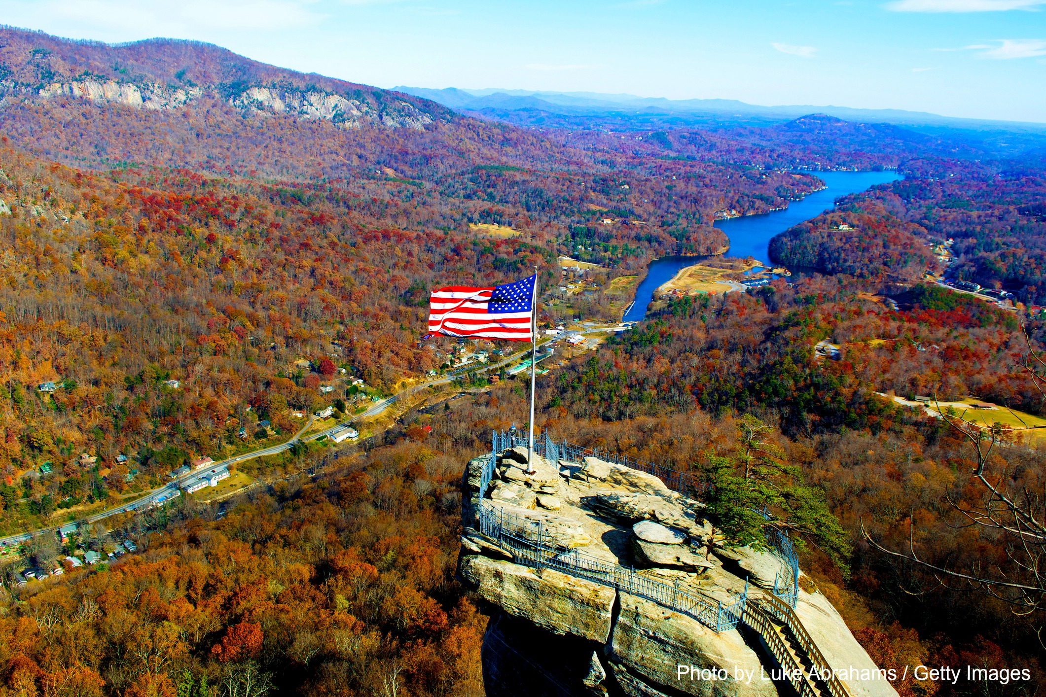 See The Best Views Ever At The Chimney Rock State Park