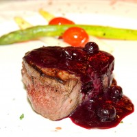 Filet Mignon with Acqua al Due