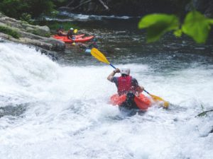Whitewater Rafting in North Carolina